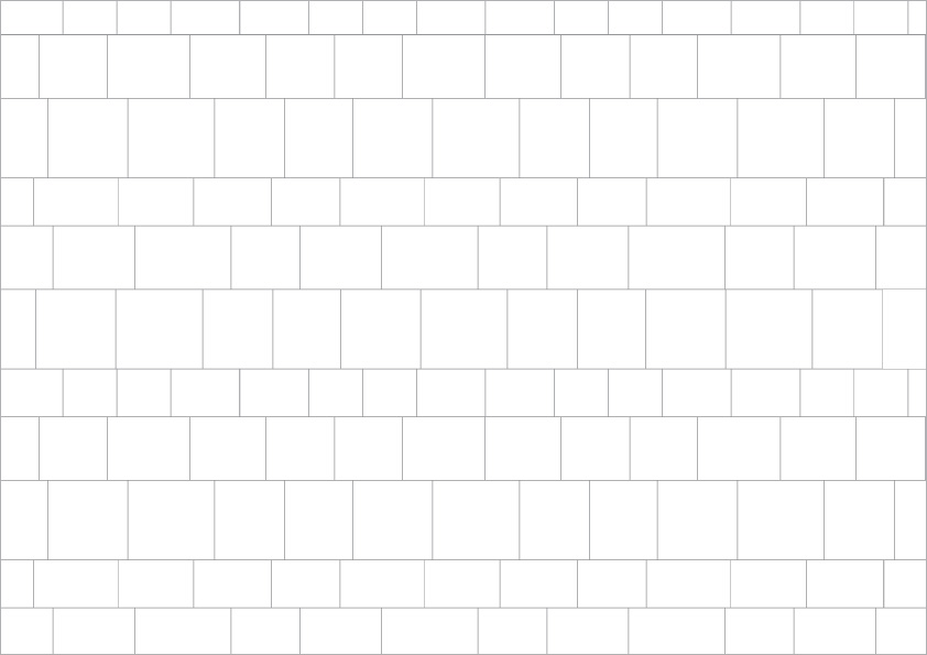 Pattern: Free Length - Natural Stone Tiling Layouts | LASCO ...